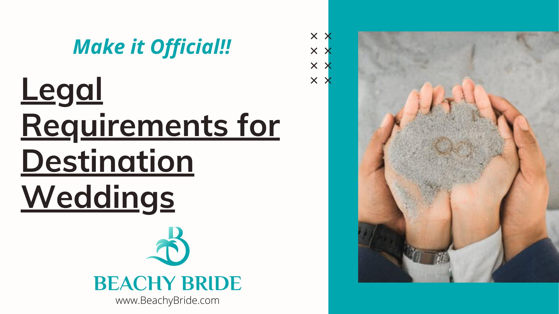 Destination Wedding Legal Requirements. 'image'