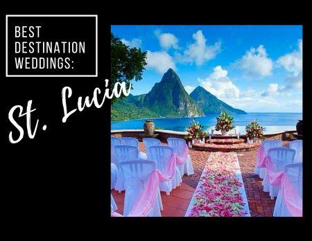 Best Destination Weddings: St. Lucia. 'image'